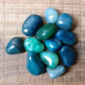 green agate tumblestone knuffelsteen 2