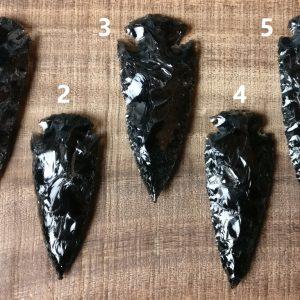 obsidiaan pijlpunt (groot)