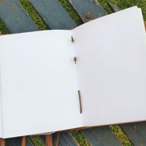 lederen notitieboek N016 3