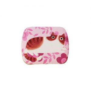 Planet Cat mini blikken doos roze