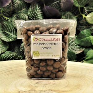 Melkchocolade parels 200g