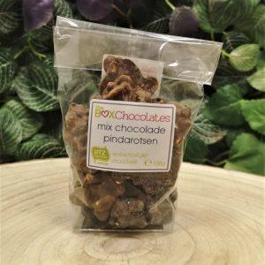 Mix chocolade pindarotsen 150g