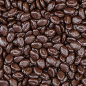 Pure chocolade koffiebonen