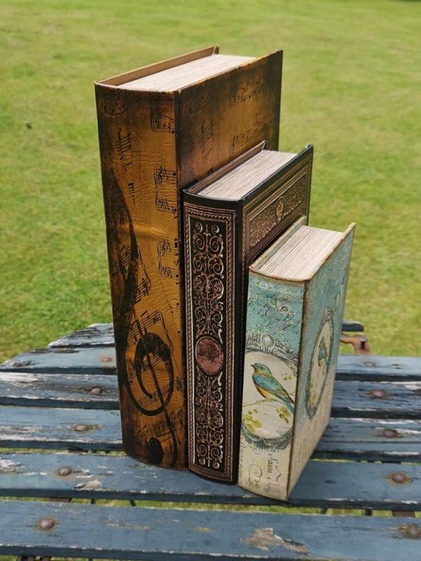 Opbergboeken boekendozen