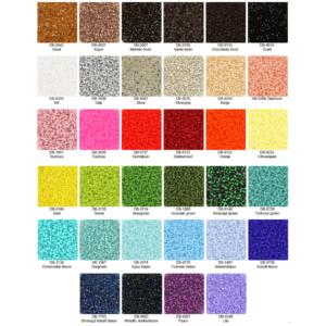 Linila Jewels Miyuki beads kleurenpalet