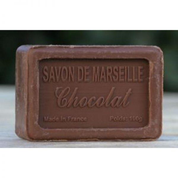 Handgemaakte Marseillezeep met chocoladegeur - Savon de Marseille chocolat